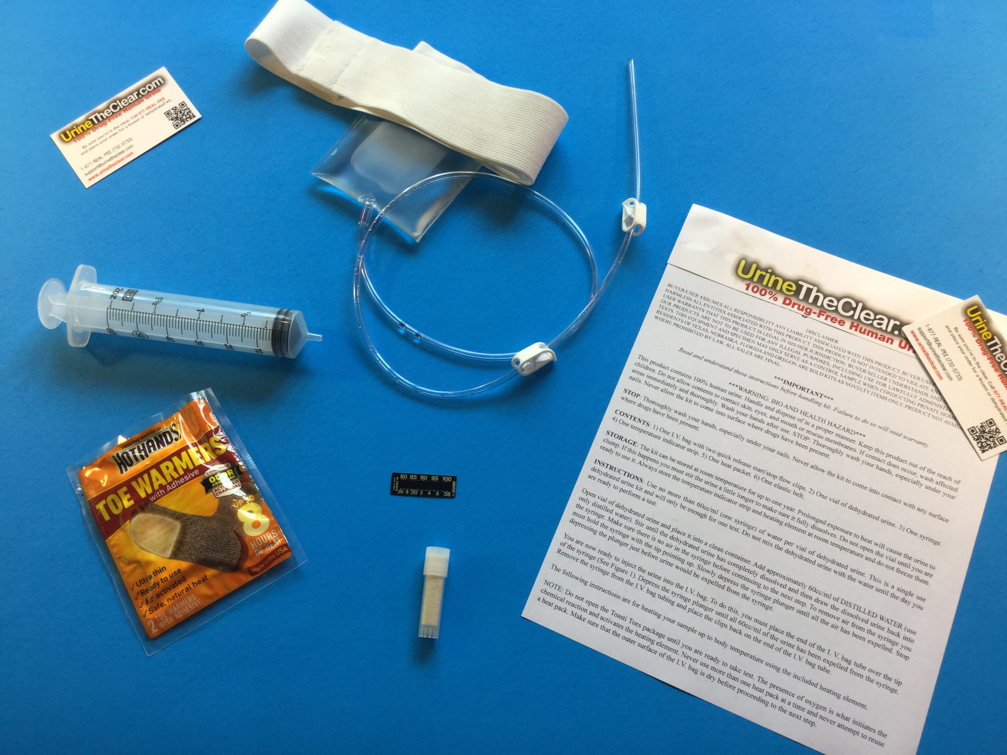 Single Use Dehydrated Urine Kit